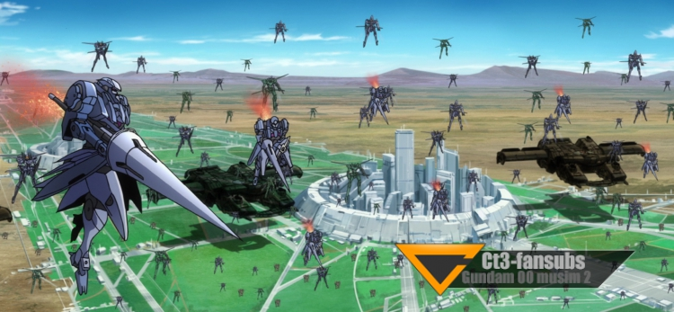 Gundam 00 s2 BR ep17 – Dalam Selerakan Cahaya