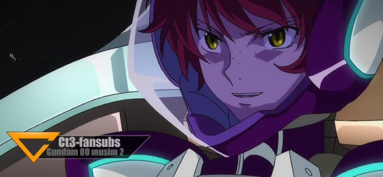 Gundam 00 s2 BR ep14 – Lagu Yang Berkumandang