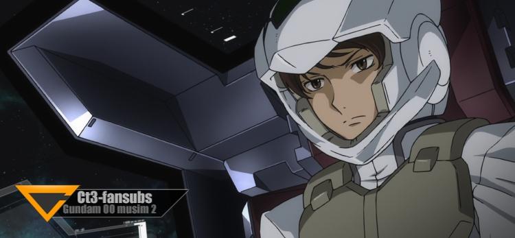 Gundam 00 s2 BR ep18 – Persilangan Perasaan